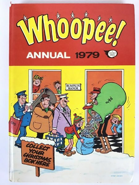 Whoopee!  Fleetway Annual Book 1979 Unclipped